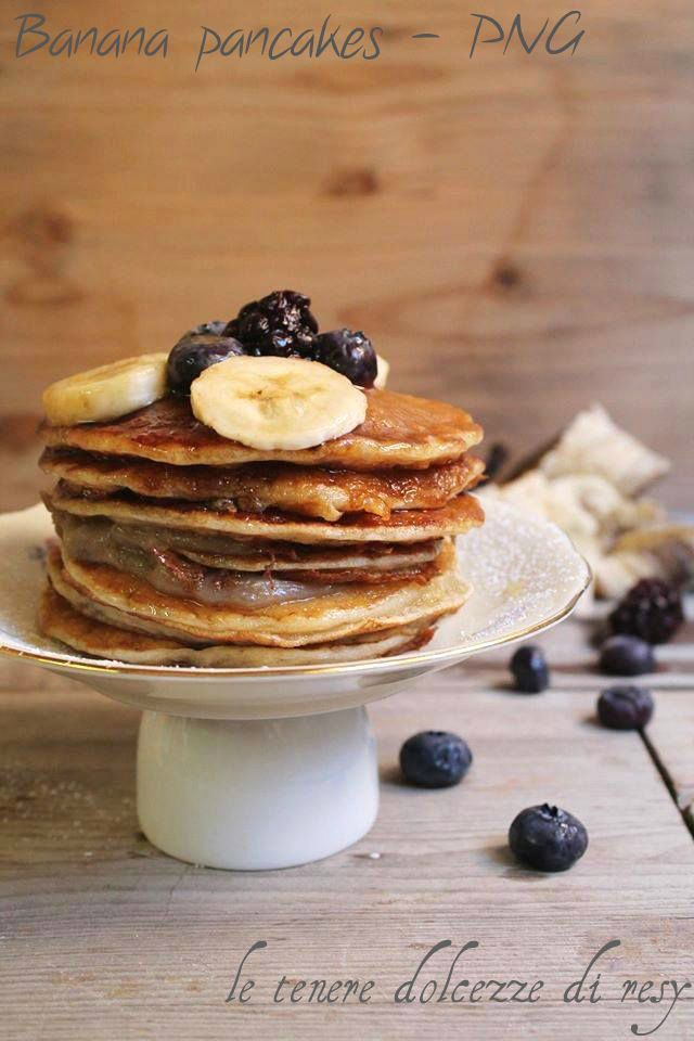 le tenere dolcezze di resy: Banana pancakes - Papua Nuova Guinea