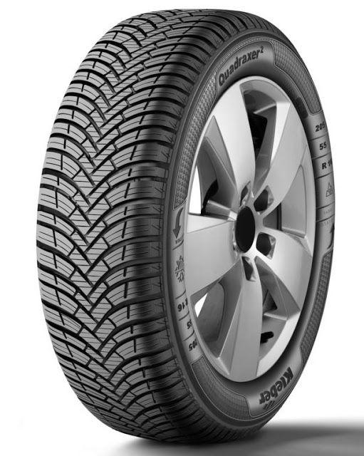 LA GAZETTE AUTOMOBILE: Photo du Jour : Kleber Quadraxer 2, le nouveau pneu 4 saisons