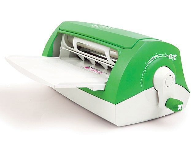 This super-star machine is a sticker maker, magnetizer, label maker, paper cutter and laminator all in one! We use it for everything: fun family craft projects, home organization, preserving kids' art projects and recipe clips, creating magnetized photos or even party menus! $75.54 on amazon