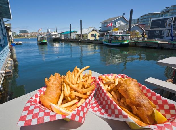 Fishermans Wharf in Victoria. Photo Credit: Paul Thompson/Corbis #exploreBC