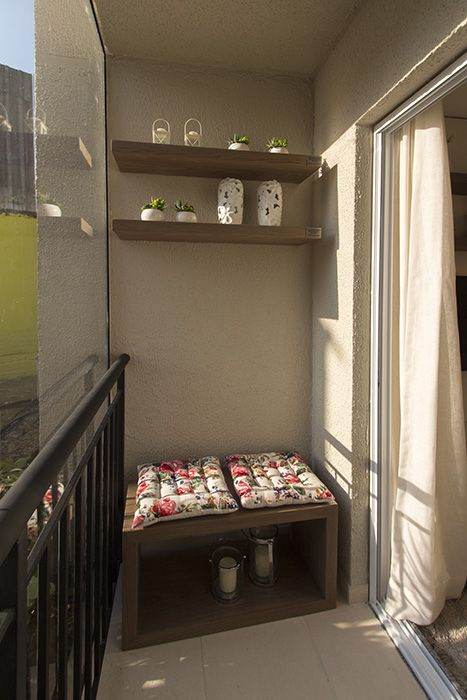 Terraço apartamento de 2 dormitórios do Follow