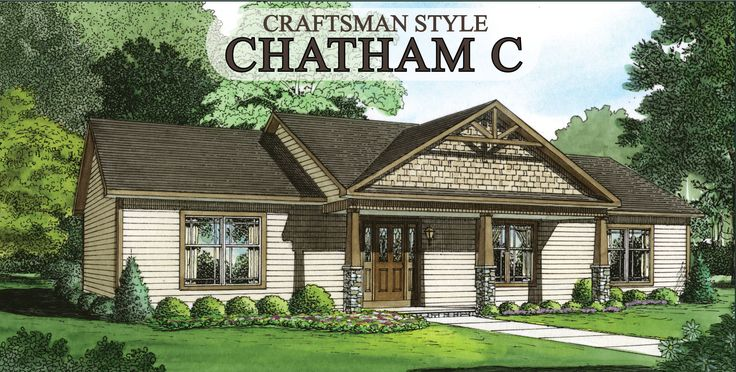 Craftsman Style Houses Chatham C Craftsman Style