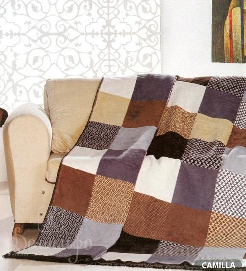 Плед CAMILLA 180х220 от Arya (Турция) - купить по низкой цене в интернет магазине Домильфо