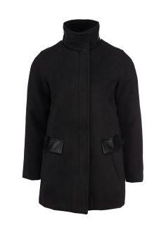 Пальто By Swan, цвет: черный. Артикул: BY004EWDKI75. Женская одежда / Верхняя…