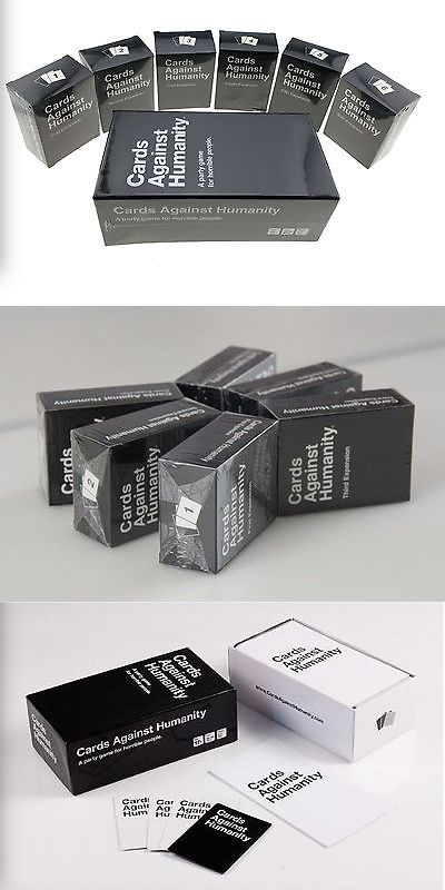 Toys And Games: Cards Against Humanity Complete Base + Expansion Packs 1-6, Free Fast Shipping -> BUY IT NOW ONLY: $52 on eBay!