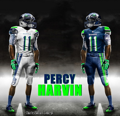 PERCY HARVIN, Our prayers are with you for a speedy recovery!  #seattle #seahawks #NFL
