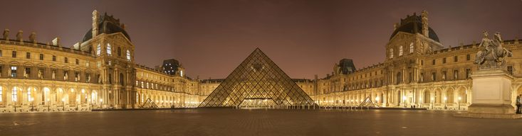 The Louvre or the Louvre Museum, is the world's largest art museum and a historic monument in Paris, France. A central landmark of the city, it is located on the Right Bank of the Seine in the city's 1st arrondissement (district or ward). Approximately 38,000 objects from prehistory to the 21st century are exhibited over an area of 72,735 square metres (782,910 square feet).[3] In 2016, the Louvre was the world's most visited art museum, receiving 7.3 million visitors. The museum...
