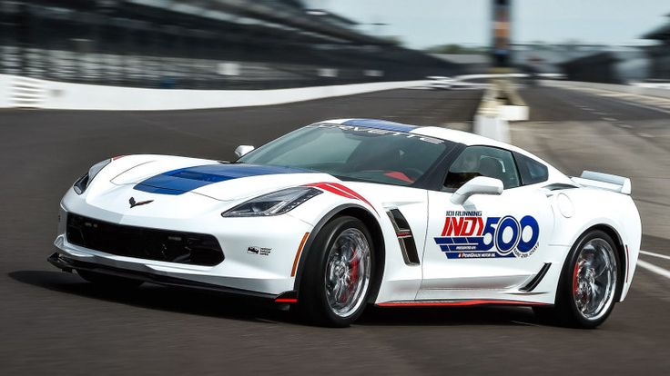 2017 Chevrolet Corvette Grand Sport will pace the Indy 500