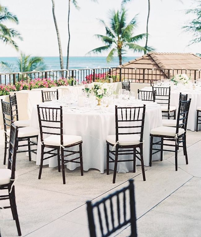 17 best images about halekulani weddings on pinterest for Terrace wedding