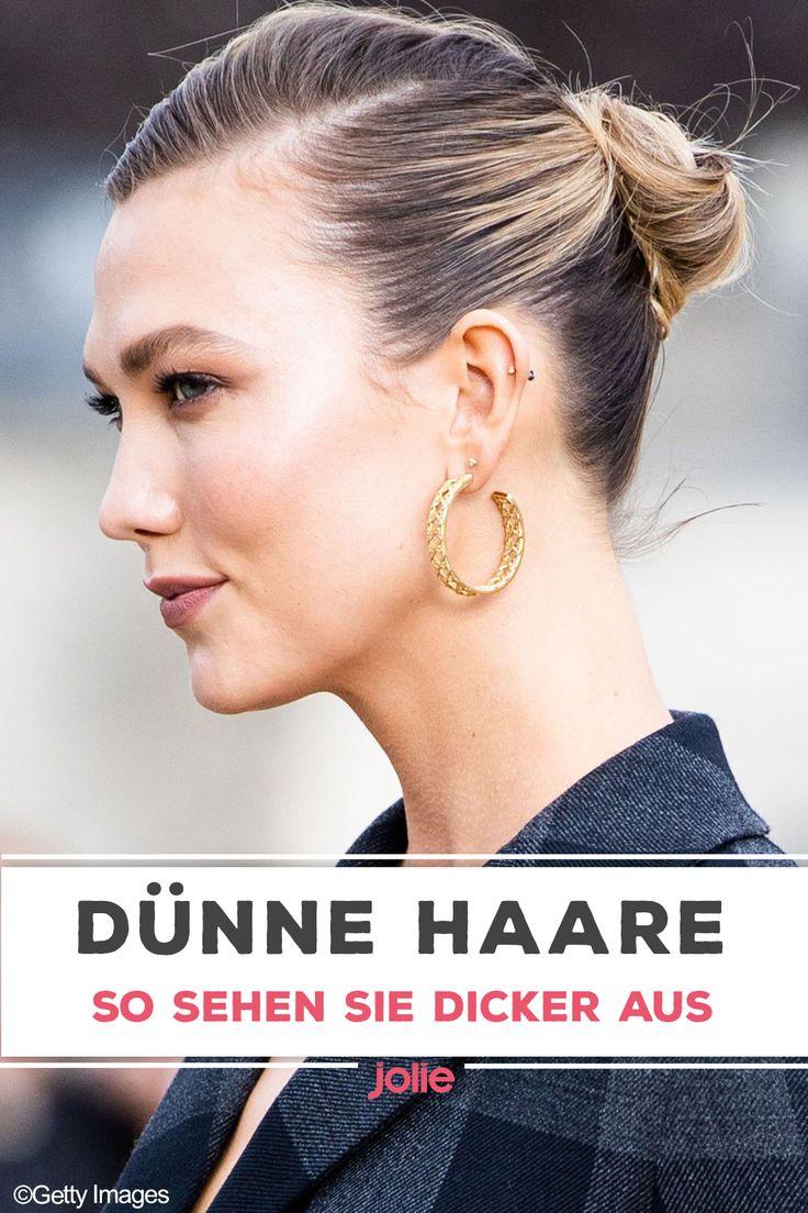 dünne haare: dünnes haar: mit diesen frisuren sehen sie