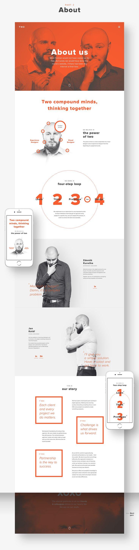 Website design for our independent UX & design studio.