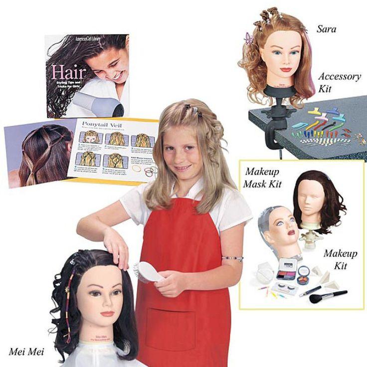 Beauty Salon Hair Styling Head, Doll  Vick\u002639;s Great Deals