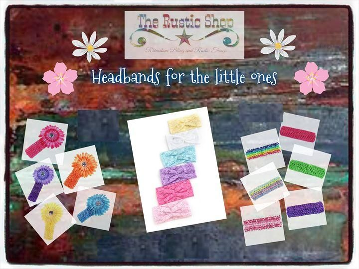 Head Bands for the Little Ones! :)