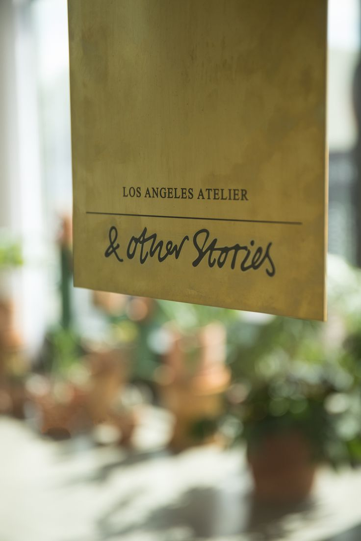 & Other Stories | Behind the scenes of our Los Angeles Atelier