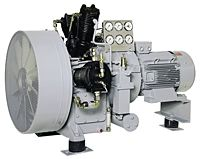 Sauer Compressors 4-stage-air-cooled units
