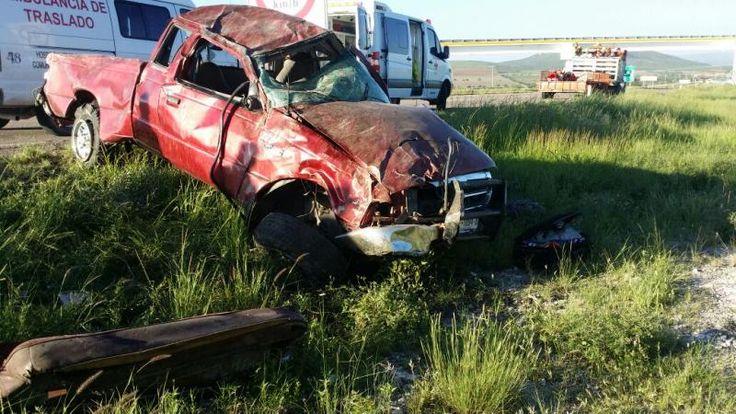 Trágico accidente en la autopista Durango-Gomez Palacio.