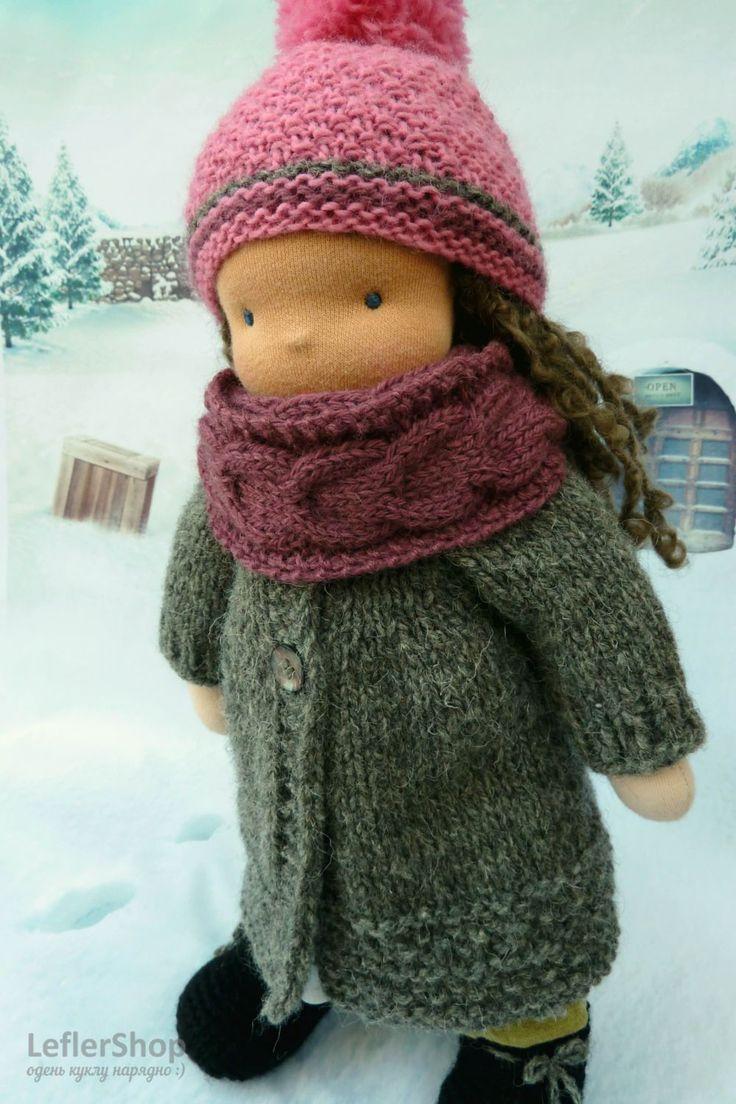 Сегодня Эльза начала готовиться к Новому году, поехала в магазин за ёлочными шарами. Она их просто обожает - такие яркие, блестящие. Вы ведь тоже любите Новый год? . . . . Одежда для куклы: двустороннее пальто, шапка, шарф, сапожки. Пальто можно надевать любой стороной, в зависимости от предпочтений или настроения))) Шарф снуд на два оборота, можно носить на шее или на голове . . . . #leflershop #лефлершоп #кукольная_одежда #вальдорфская_кукла