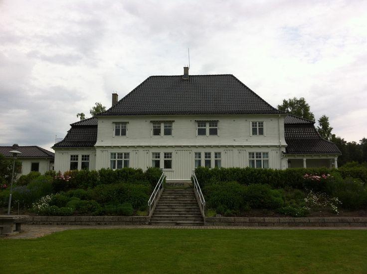 Eiker, Stryken 8, 3303 Hokksund, Norway - Bolig for sorenskriveren i  Eiker, Modum og Sigdal 1904-1996. Oppført 1904.
