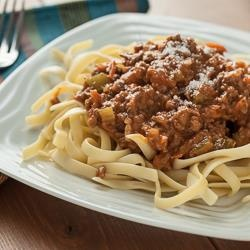 Creamy Italian Three-Meat Sauce