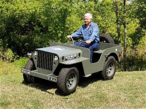 Struck - Jeep Plans / Kit - Mini Beep Off Road Truck - Off Road Jeep You Build Yourself! - YouTube