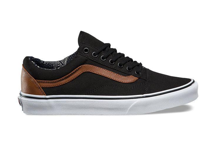 Chaussures Vans Old Skool Noir Marron | Alltricks.fr
