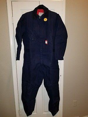 Walls Zero Zone Insulated Coveralls Men XL Reg Prem. Outerwear Blue NEW W/TAG