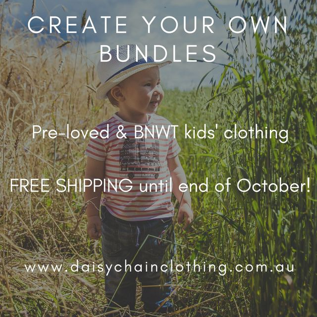 Daisy Chain Clothing provides parents with a convenient & affordable way to buy pre-loved and new children's clothing. Our pre-loved clothes have all been carefully hand-picked by us, so you can have confidence in the quality of any items you purchase. Our range of clothes is growing as we regularly acquire more items from various sources. Visit our website today!