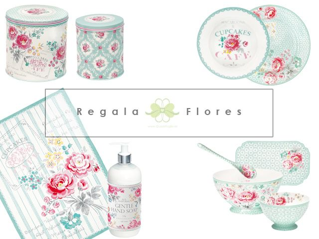 Para San Valentín regala flores de las que no se marchitan :) http://www.quadrifoglio.es/search.php?orderby=position&orderway=desc&search_query=mint ---- Lulu Mint de #GreenGate ----