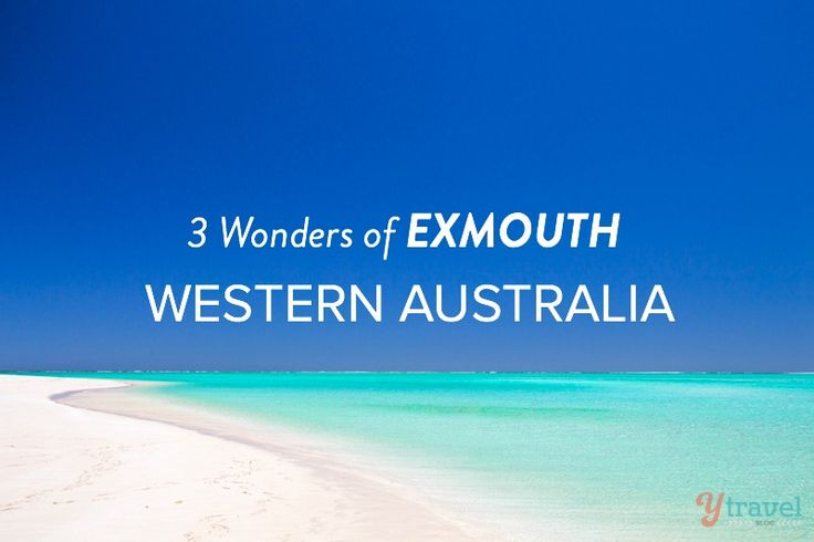 Experience the 3 natural wonders of Exmouth, Western Australia