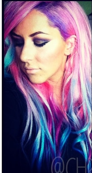 Cotton candy hair... A must at least once in my lifetime