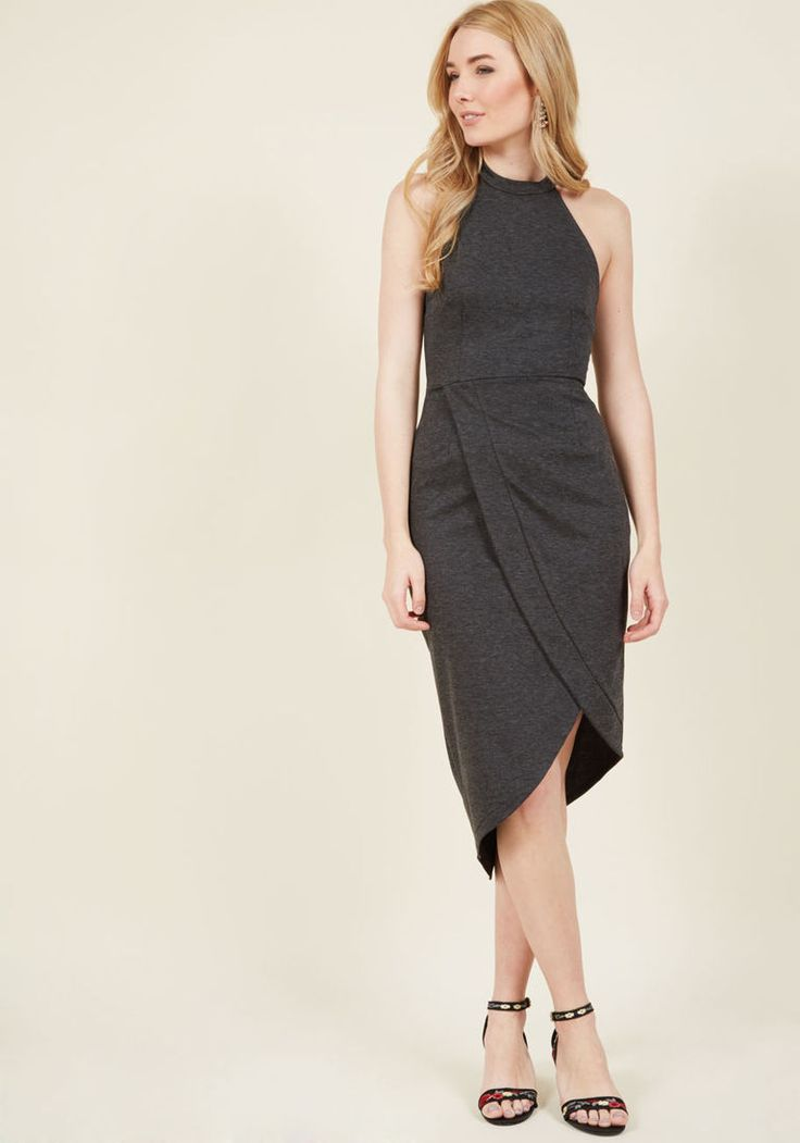Exceptional at All Angles Sheath Dress