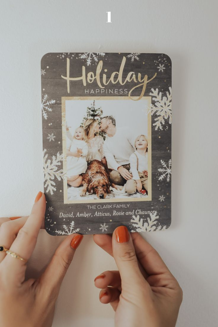344 Best Holiday Cards Images On Pinterest Holiday Cards