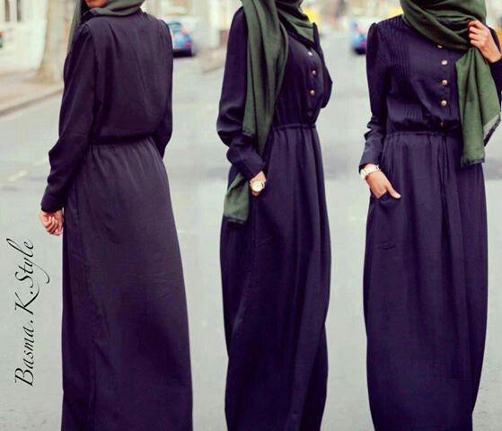 Hijab simple mais trop shik.