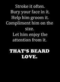 Beard love