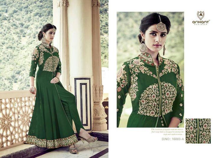 Indian Bollywood Pakistani Designer Anarkali Salwar Kameez Shalwar Dress 976