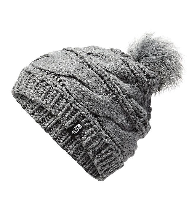 3071db27dc215a Triple cable fur pom   Gifts Made Easy   Winter hats, Fur pom pom ...
