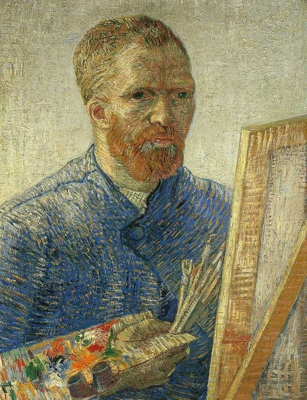 Музей Ван Гога в Амстердаме. Автопортрет. Париж, февраль 1888