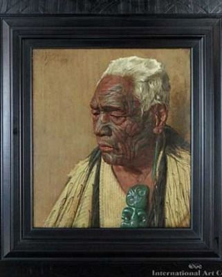 Three paintings by New Zealand artist Charles Frederick Goldie are expected to fetch $1 million at an Auckland art auction tomorrow.