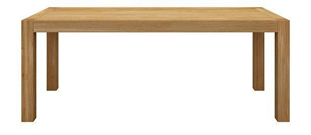 Stół drewniany rozkładany - Stół rozkładany BLOX - Miloni.pl