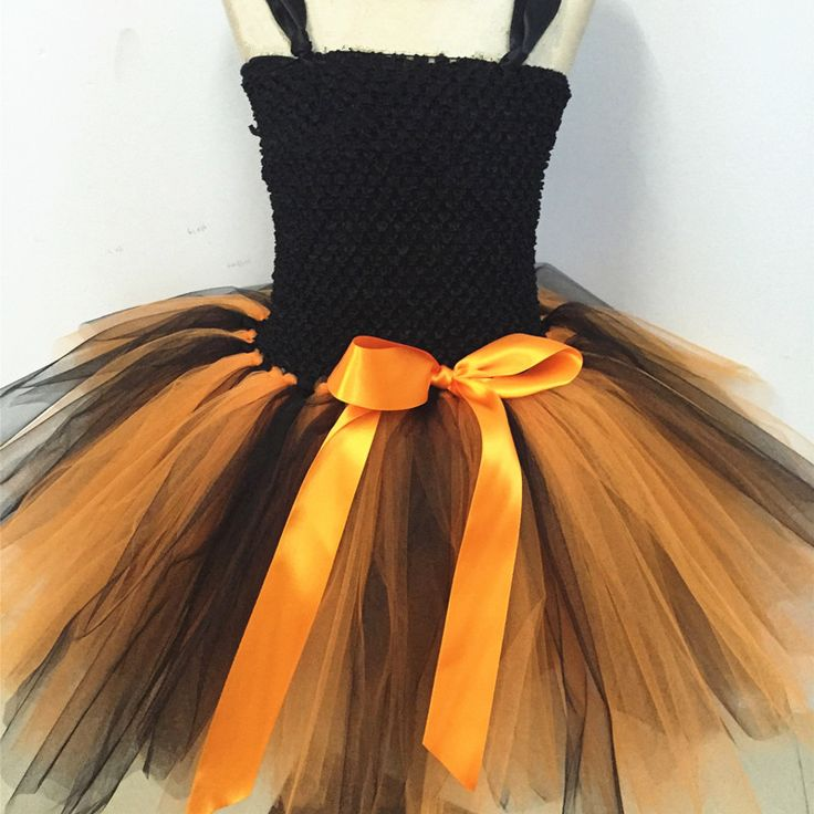 ==> [Free Shipping] Buy Best New Girls Pumpkin Halloween Tutu Dress Party Costumes Baby Girl Princess Dress Kids Festival Birthday Dance Performance Dresses Online with LOWEST Price | 32757414243