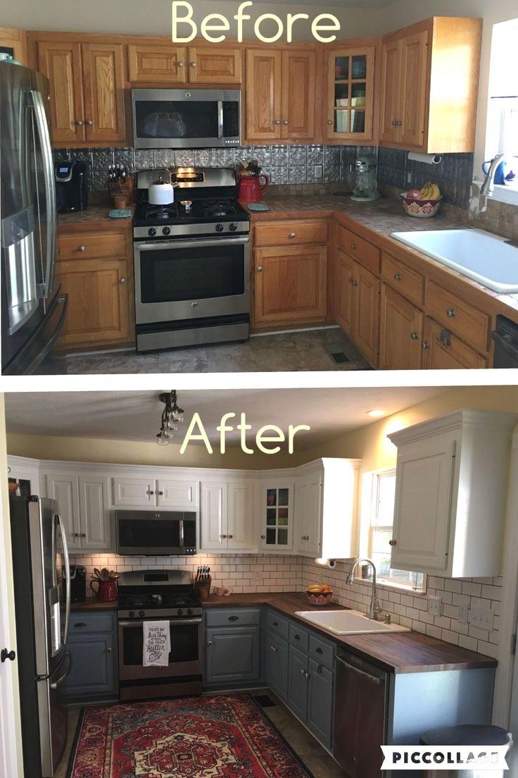 26 Kitchen Paint Colors Ideas You Can Easily Copy In 2020 Kitchen Diy Makeover Kitchen Makeover Diy Kitchen Renovation