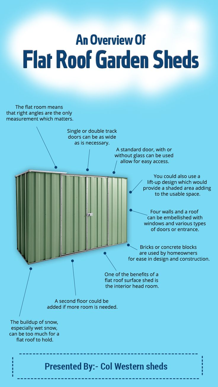 Best 25 Flat Roof Shed Ideas On Pinterest Porch Awning