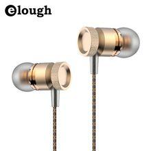 Elough profissional almofada de fone de ouvido de metal fone de ouvido estéreo com microfone para apple iphone 5 6 7 samsung sony fone de ouvido fone de ouvido(China (Mainland))