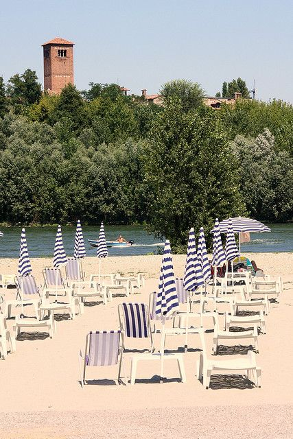 Summer In Pavia, Italy