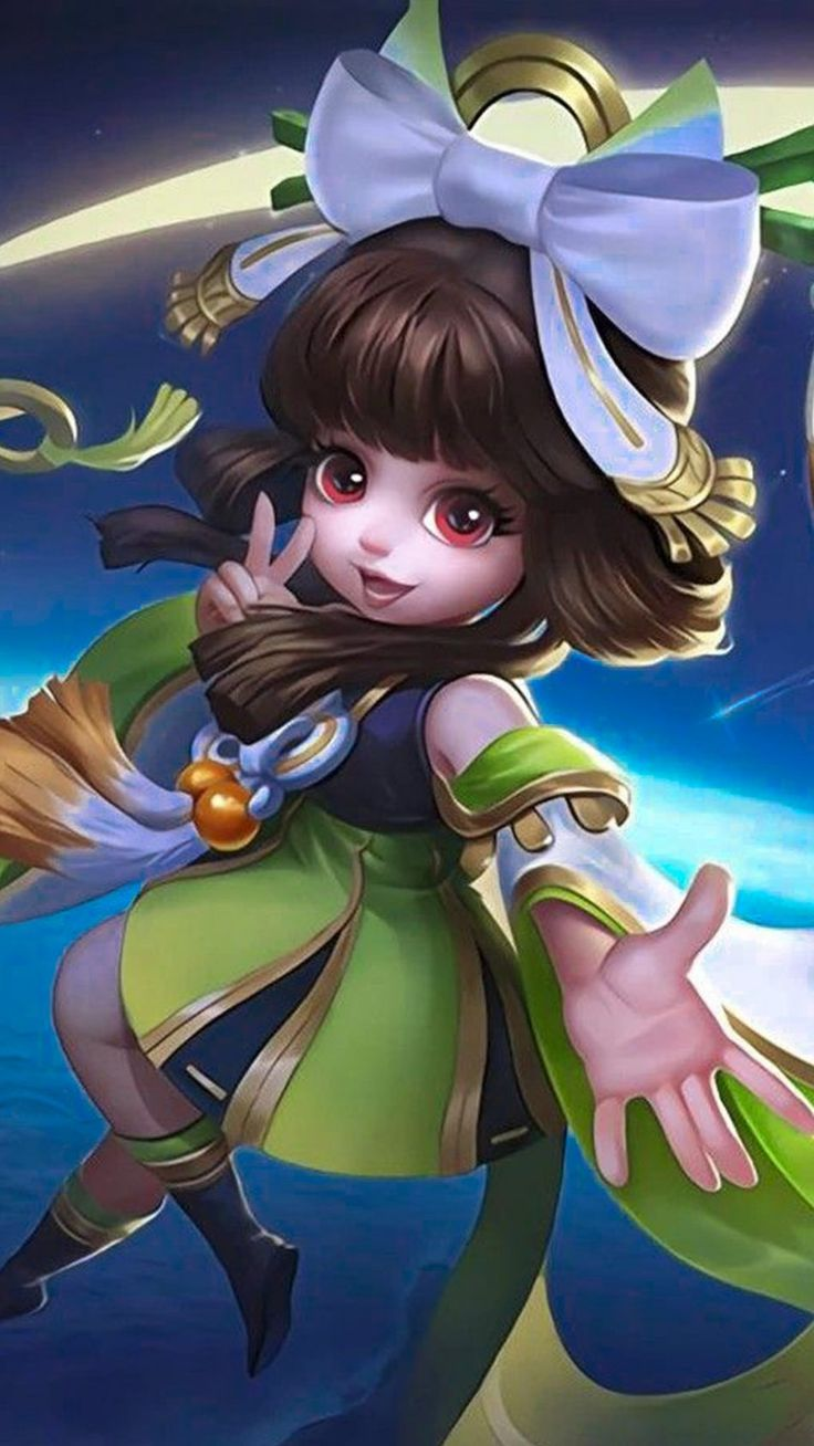 Chang'e Mobile Legends Chang'e Mobile Legends 4K Ultra HD Mobile Wallpaper. <a class=
