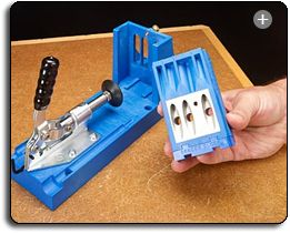 Kreg Jig K4 Pocket Hole System $99.  How nerdy am I for wanting this?