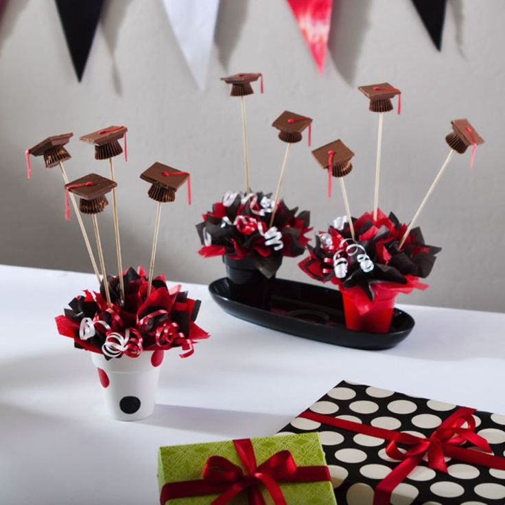 Best red black graduation party images on pinterest