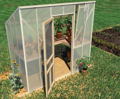 DIY Saturday #48 U2013 How To Build A Greenhouse For Your Home