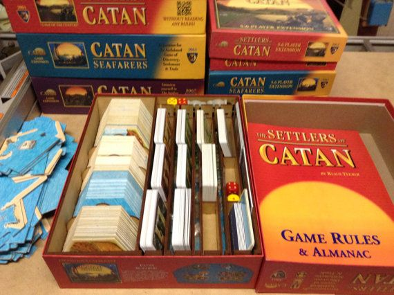 With Catan becoming all the rage and with numerous expansions, Firefly Workshop saw a need to make things a little more convenient and