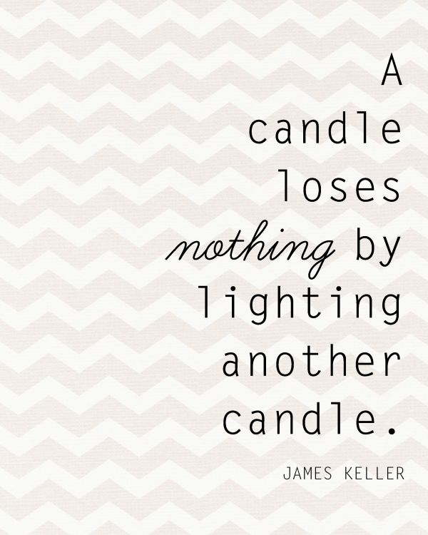 Sunday Encouragement: Candles {2.9.14} - Landee See Landee Do